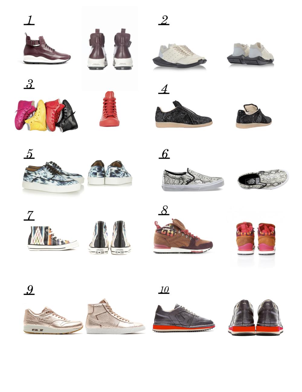 SneakerFallPersonality