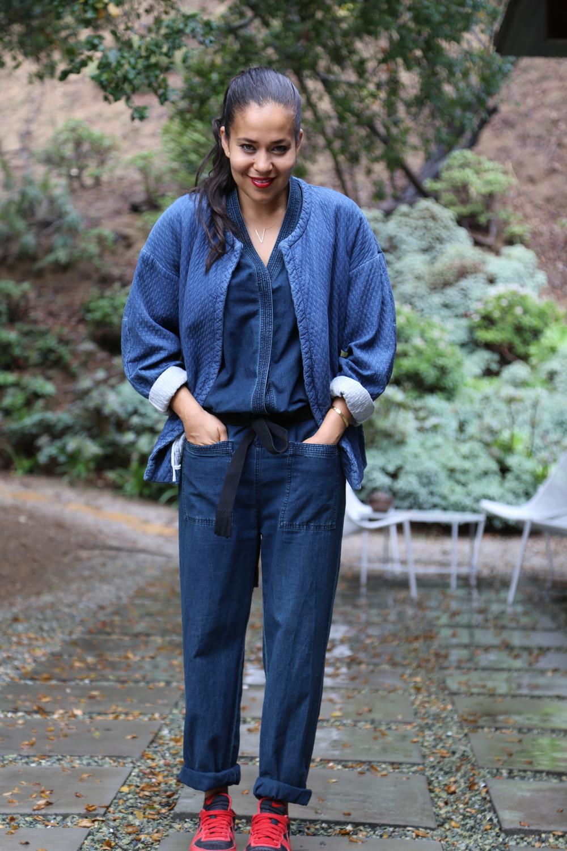 isabel-marant-robe-coat-kimono-jumpsuit-denim-nike-dunks-red-sneakers-los-angeles.jpg