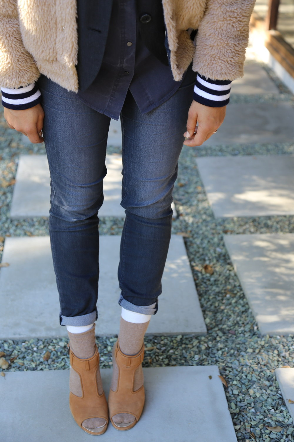j-brand-jeans-navy-skinny-mother-furry-jacket-proenza-schouler-heels-nude-alexander-wang-blue-button-up-los-angeles.jpg