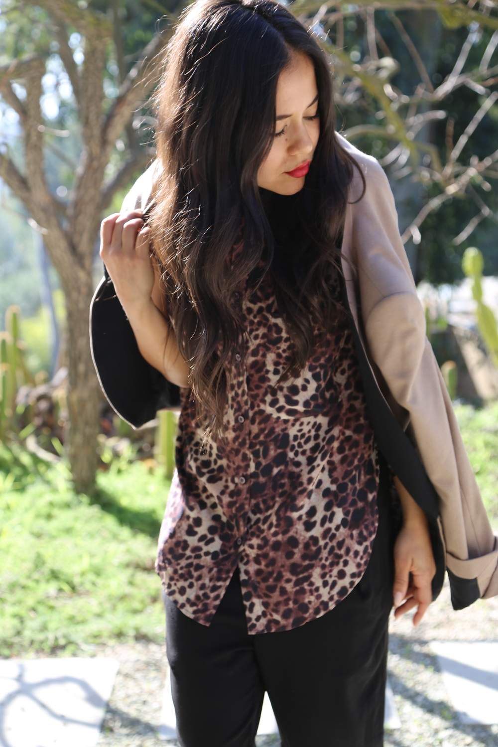 VANESSA-BELETIC-ISABEL-MARANT-LEOPARD-TOP-ZARA-BLAZER-LOS-ANGELES.JPG