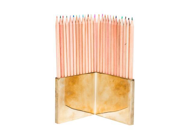 Brass pencil set