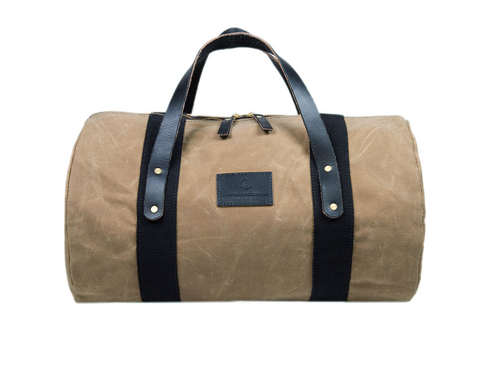 Black Anchor Overnighter bag $200