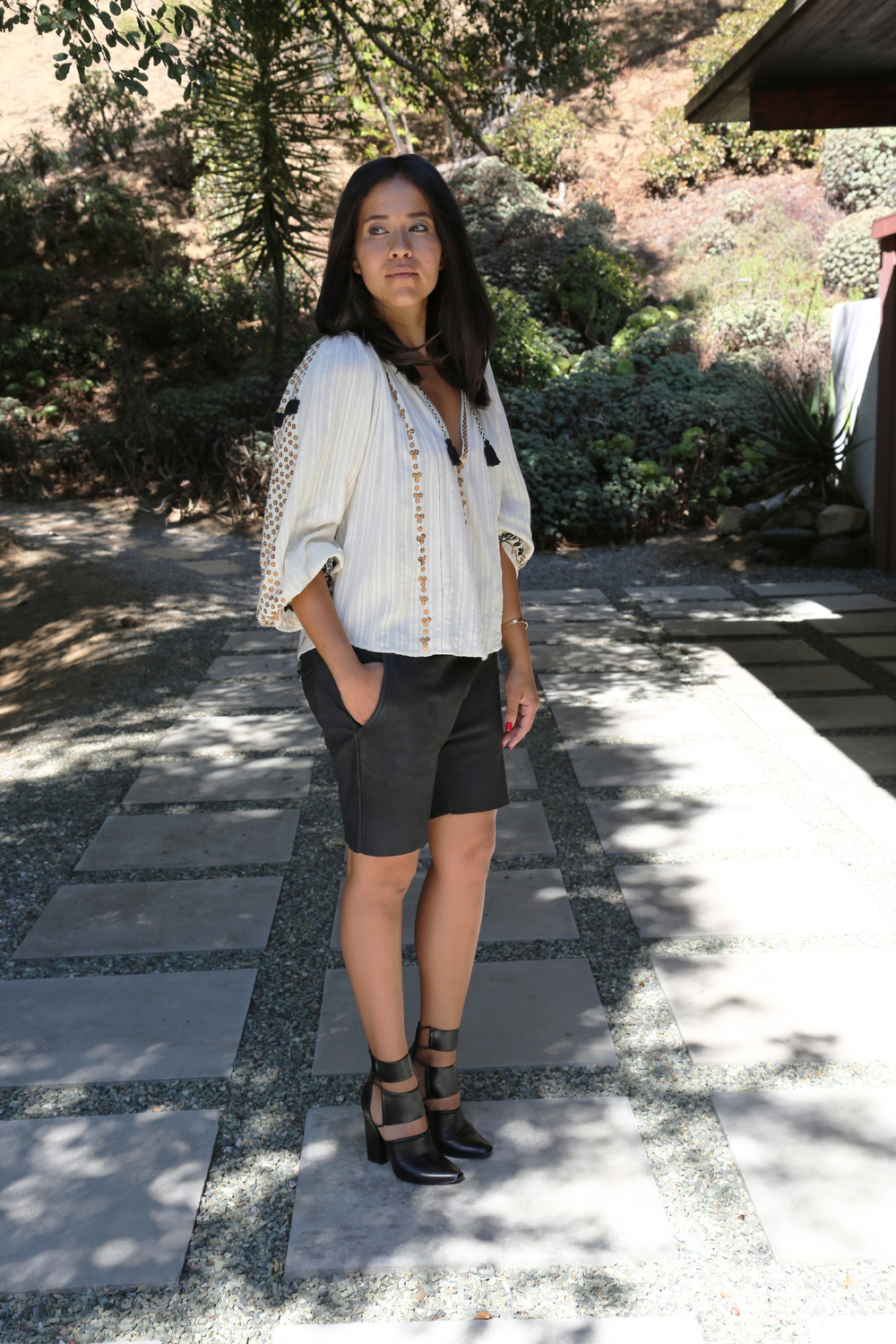 VANESSA-BELETIC-STYLE-BOHO-LEATHER-SHORTS-LOS-ANGELES.JPG