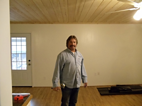 ERIC BRINK- General Contractor on the job