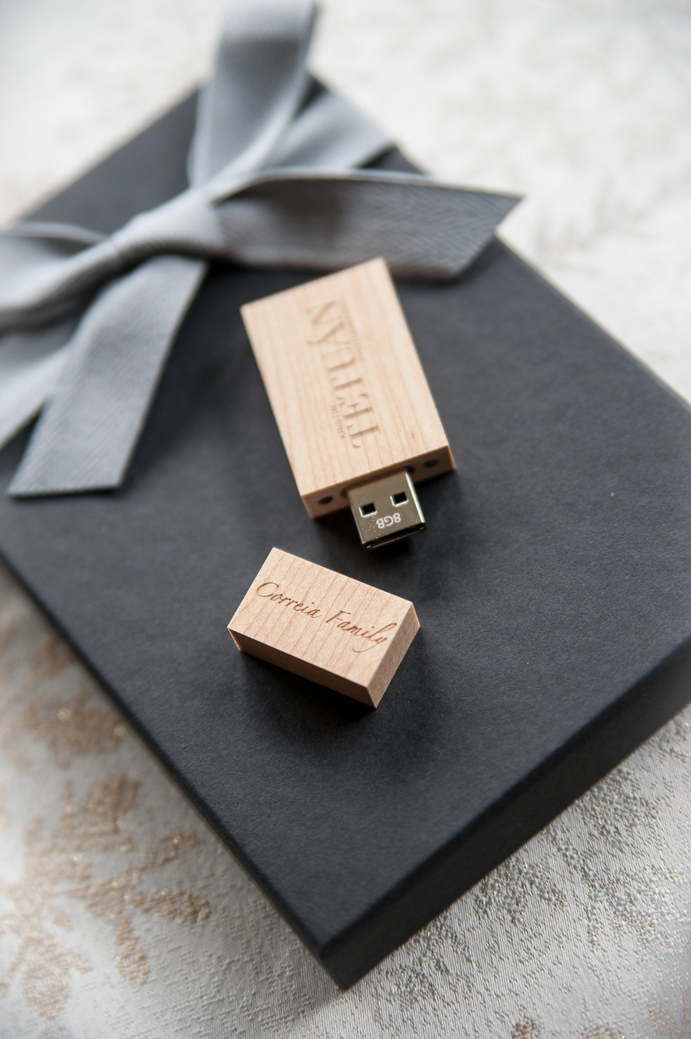 For an add'l $45, you may purchase an heirloom USB drive. -