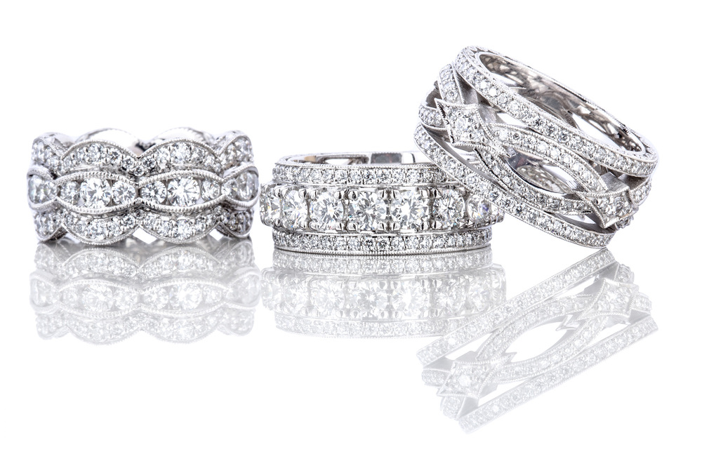 Tacori RoyalT Diamond wedding bands