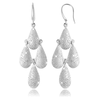 CHARLES GARNIER   Sterling silver chandelier earrings  $165