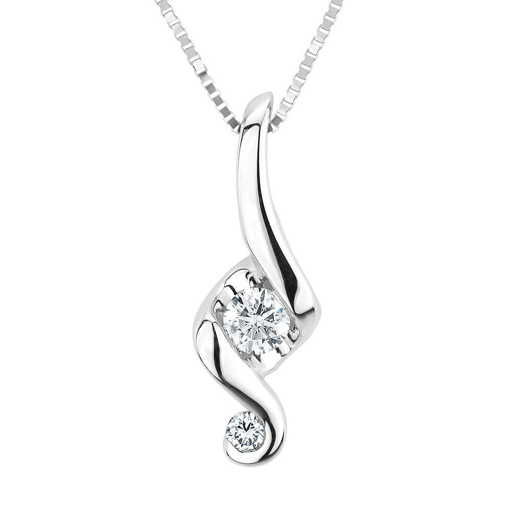 JUNO LUCINA 14k White Gold pendant with diamonds representing a mother holding her child. Starting at $399 Husar Price: Varies on diamond ctw