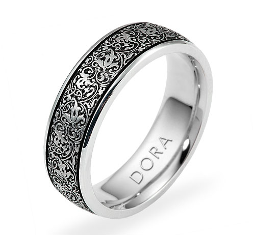 DORA  -   Wedding Band Ring   Style No. 5789  Starting at $1065