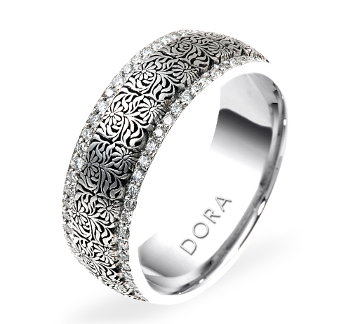 DORA - Wedding Band Ring Style No. 5807 Starting at $4795
