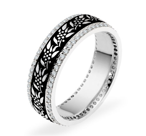 DORA - Wedding Band Ring Style No. 5801 Starting at $2735