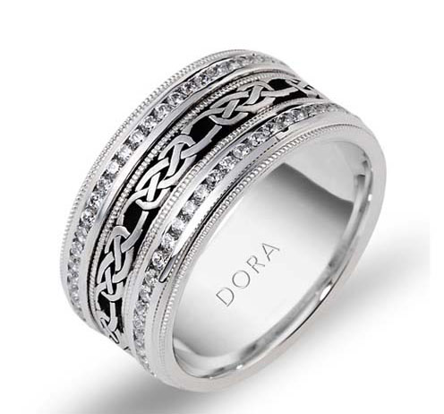 DORA - Wedding Band Ring Style No. 5261 Starting at $3495