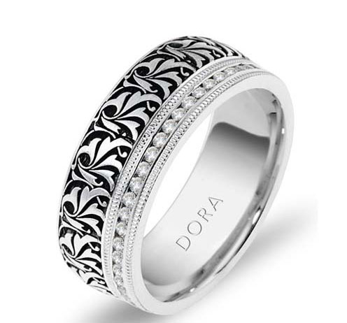 DORA - Wedding Band Ring Style No. 5259 Starting at $2195