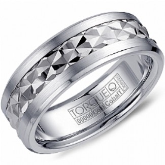 CROWN RING / TORQUE - Wedding Band Ring Style No. CW_017 Starting at $649