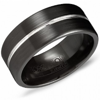 CROWN RING / TORQUE - Wedding Band Ring Style No. CBB_7013 Starting at $449