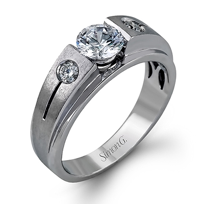 SIMON G.  -   Wedding Band Ring   Style No. MR_2036  Starting at $2200