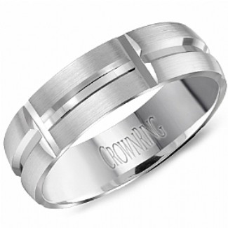 CROWN RING  -   Wedding Band Ring   Style No. HW_6107  Starting at $999