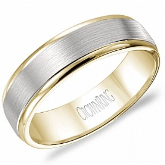 CROWN RING - Wedding Band Ring Style No. WB_7141 Starting at $749
