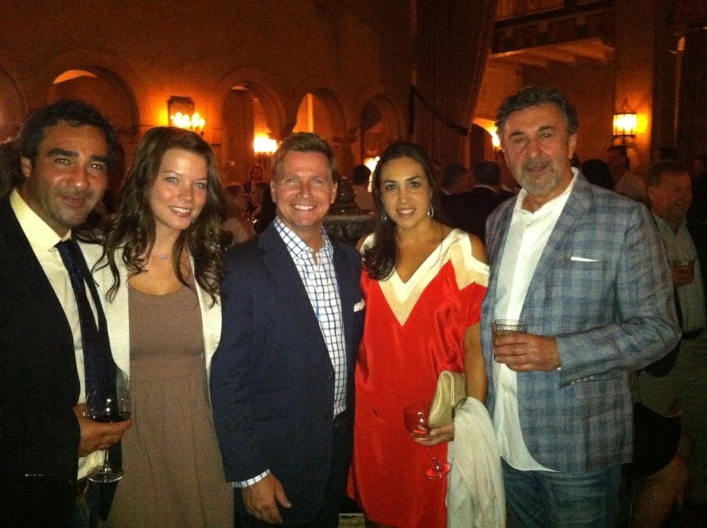 Paul Tacorian, Lindsey McCormick, Craig Husar, Nadine & Haag Tacorian at Club Tacori.