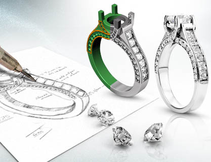 jewelry lyle fine milwaukee and engagement waukesha diamonds designs designed brookfield husar design custom in rings