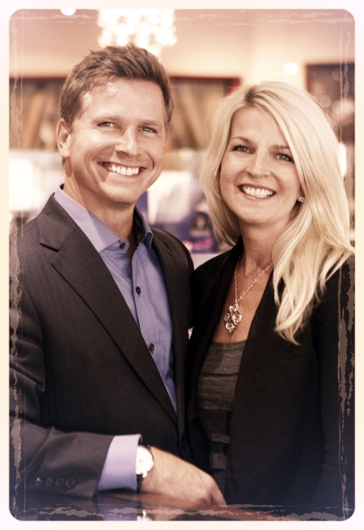 Craig Husar & wife Danielle Husar, 2nd Generation Owners of Lyle Husar Designs