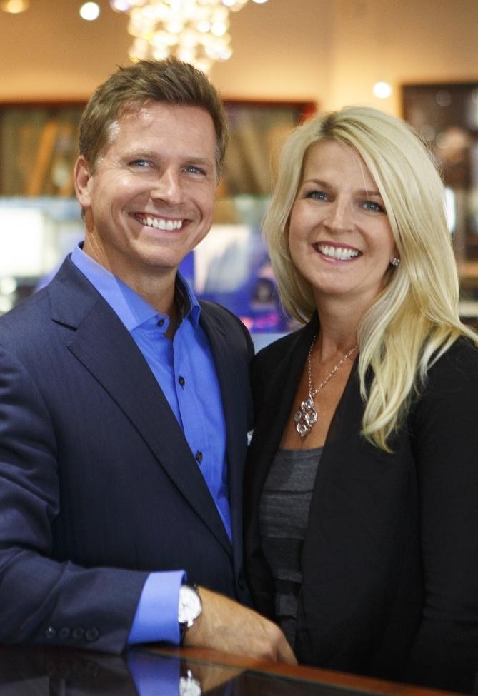 Craig Husar & wife Danielle Husar, SecondGeneration Owners of Lyle Husar Designs