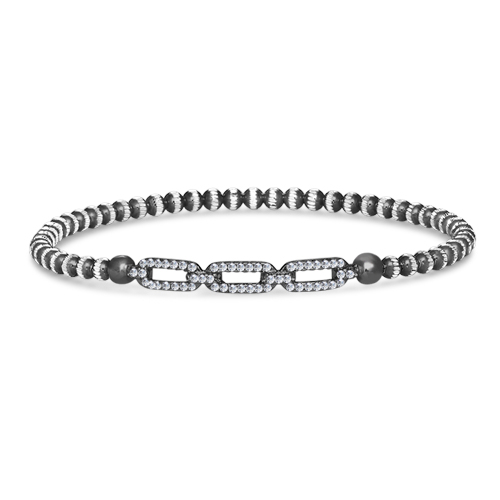 FourKeeps - 1 Row Bracelet, Link - $135