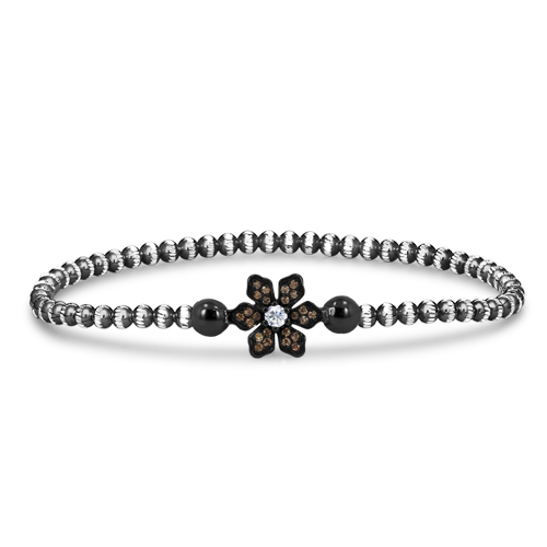 FourKeeps - 1 Row Bracelet, Petal - $100
