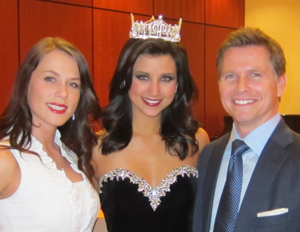 Craig Husar and Laura Kaeppeler Miss America 2012