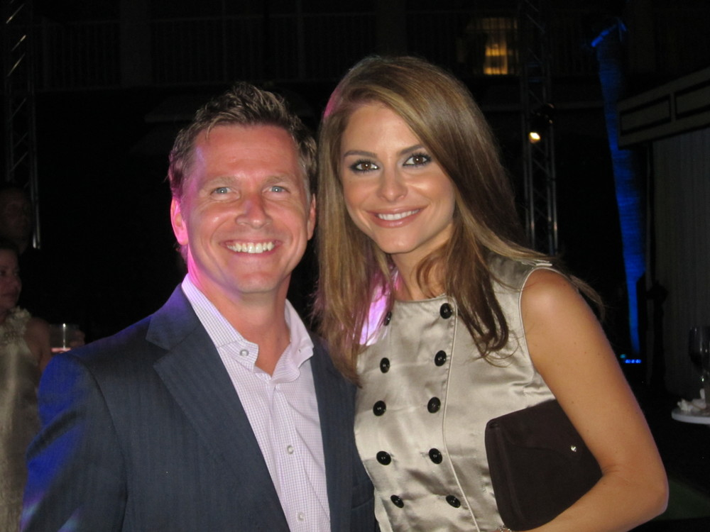 Craig Husar and Maria Menounos