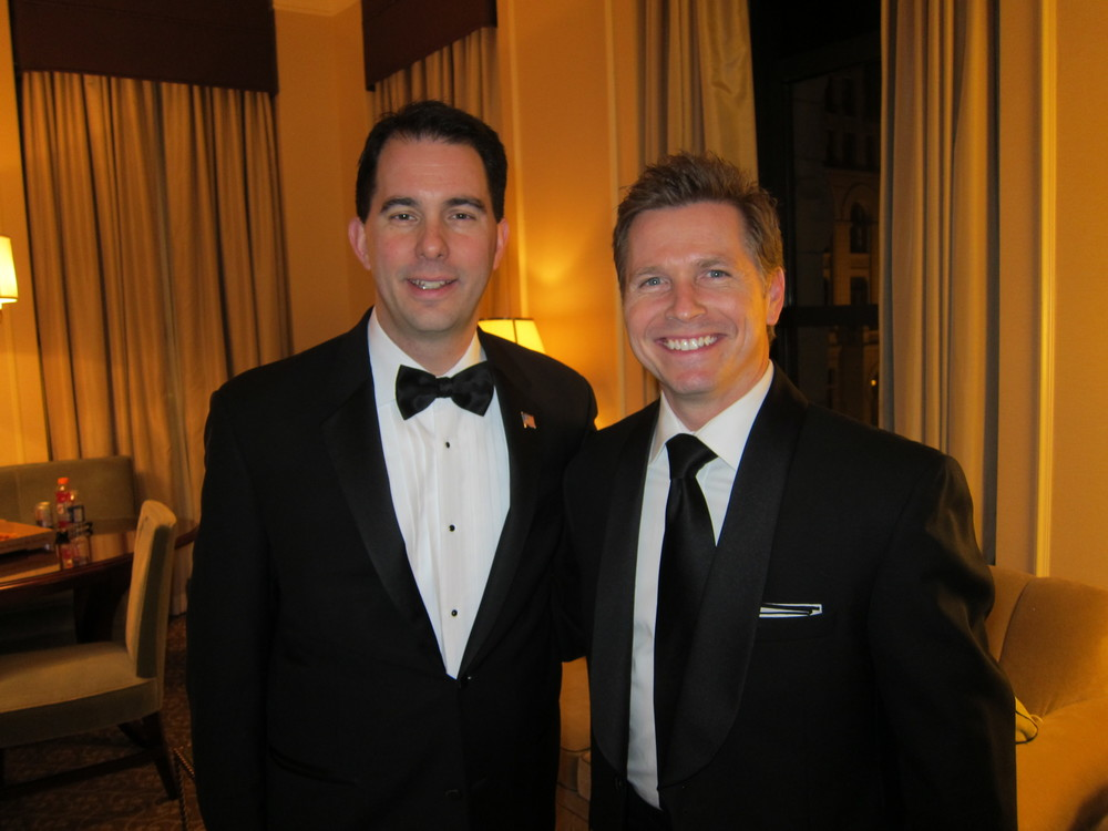 Governor Scott Walker and Craig Husar