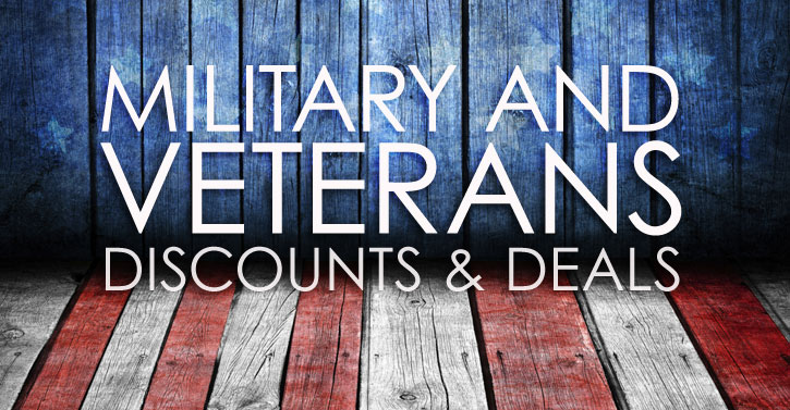 Military and Veteran Discounts & Deals at Lyle Husar Designs