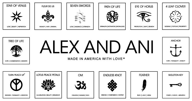 alex and ani bracelet symbol chart