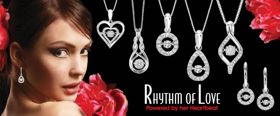 Rhythm of Love Diamond Jewelry Powered by her Heartbeat