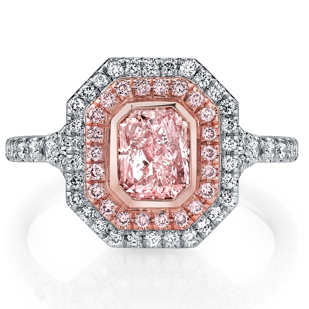 Husar Pink Diamond Ring