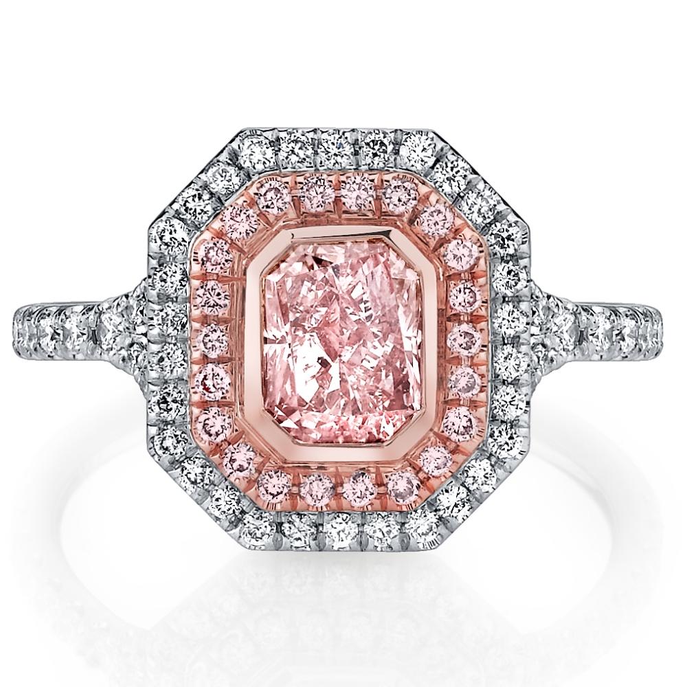 Husar Pink Diamond Ring