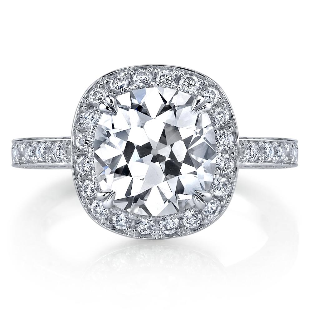 Husar European Cut Diamond Ring