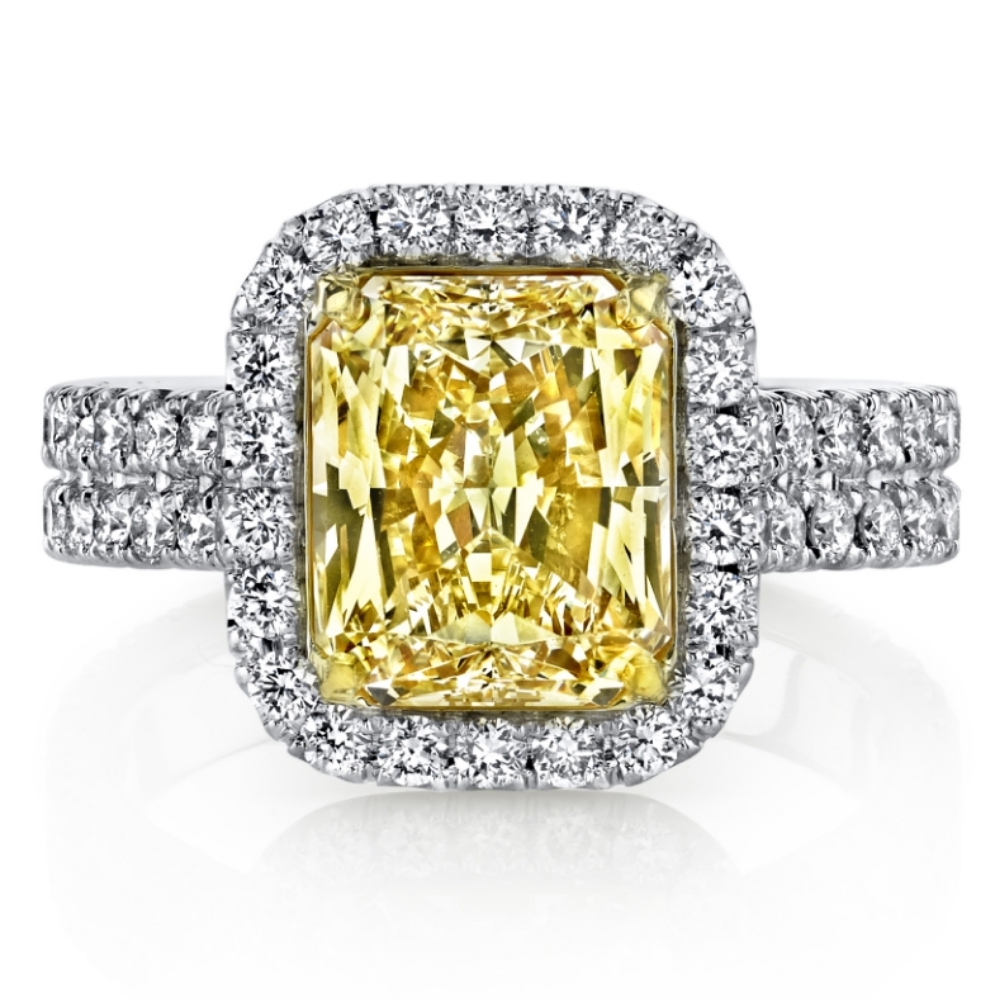 Husar Yellow Diamond Ring