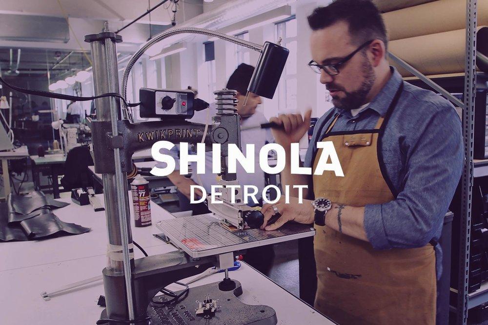 Shinola Watch Built in Detroit