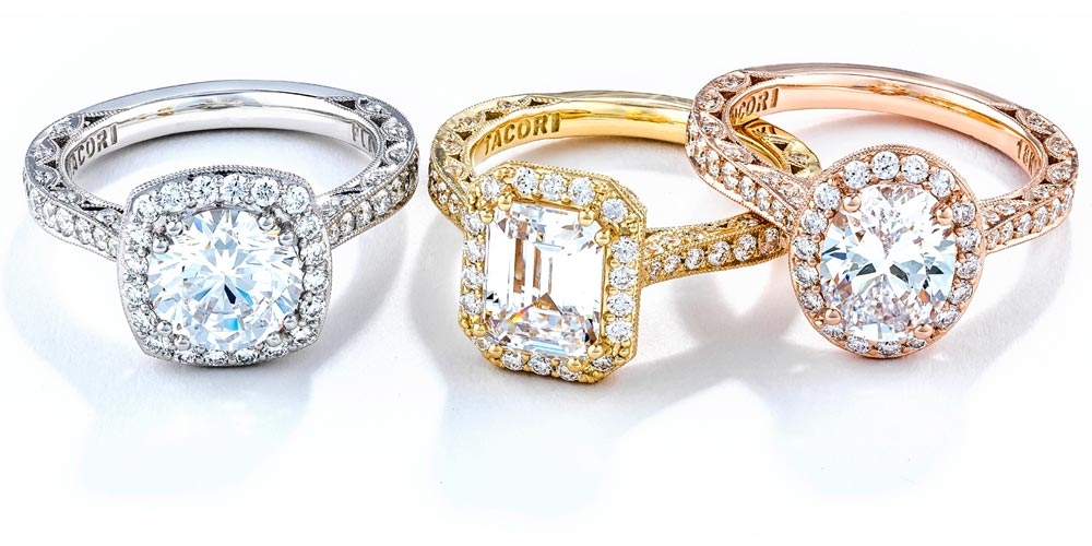 Tacori Diamond Engagement Rings