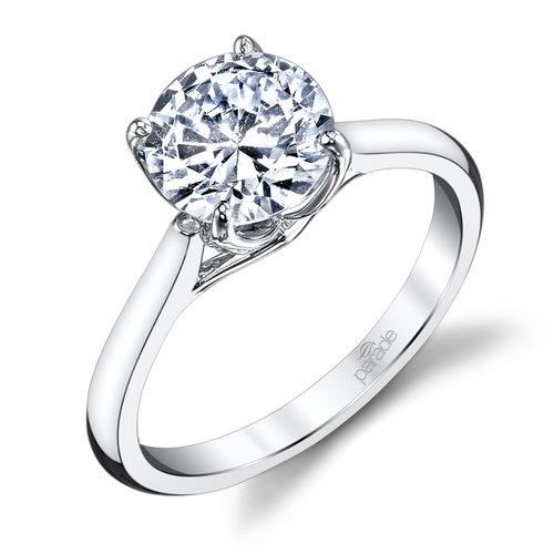 parade classic bridal r3671r1 - Wedding Ring Styles