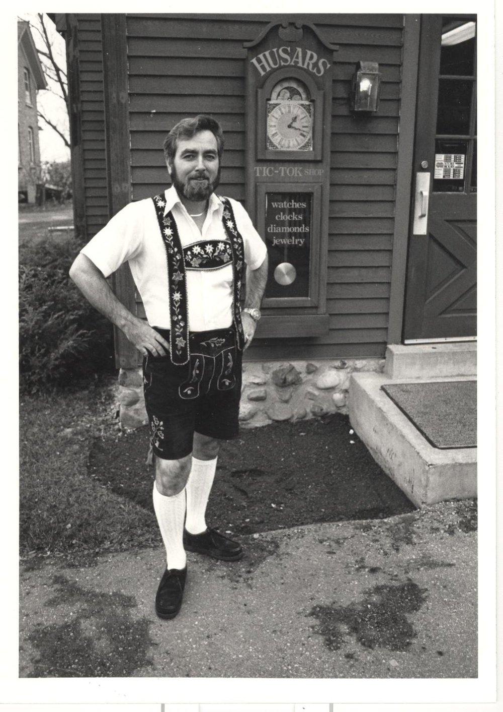 Lyle C. Husar, Master Watchmaker, Circa 1985