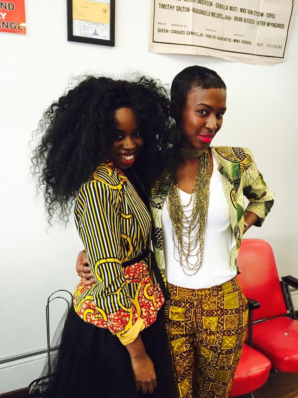 Kelechi of Zuvaa and Iris of The Urban Maasai