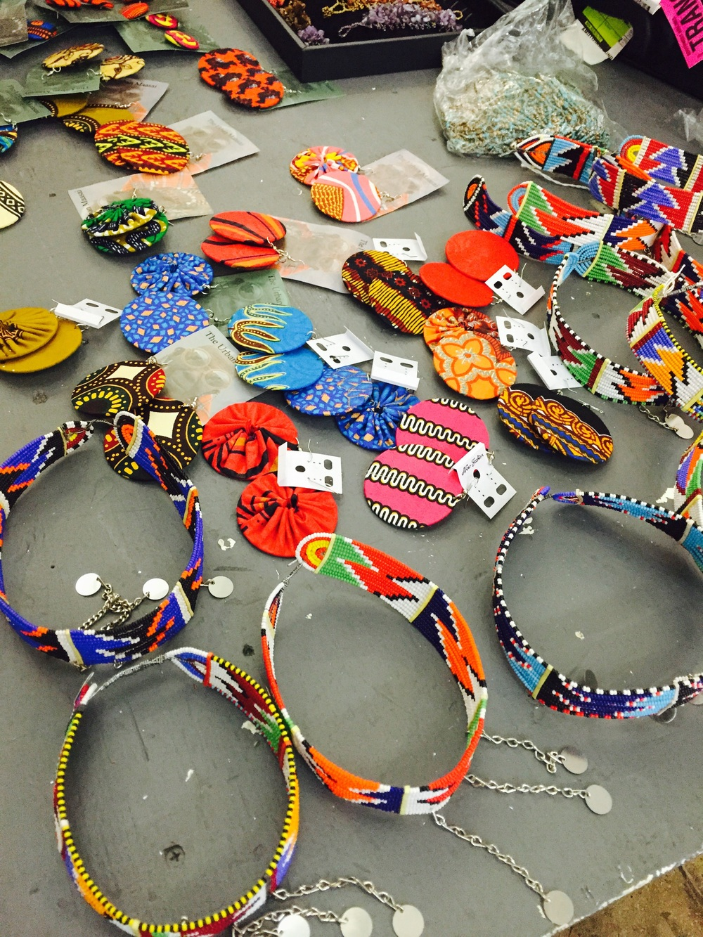 Handcrafted jewelry from  The Urban Maasai