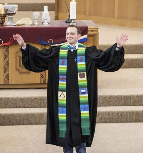 University christian church same location new chapter new pastor lines is an ordained minister in the christian church disciples of christ and publicscrutiny Gallery