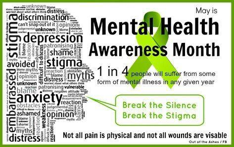 Image result for mental health awareness month 2018