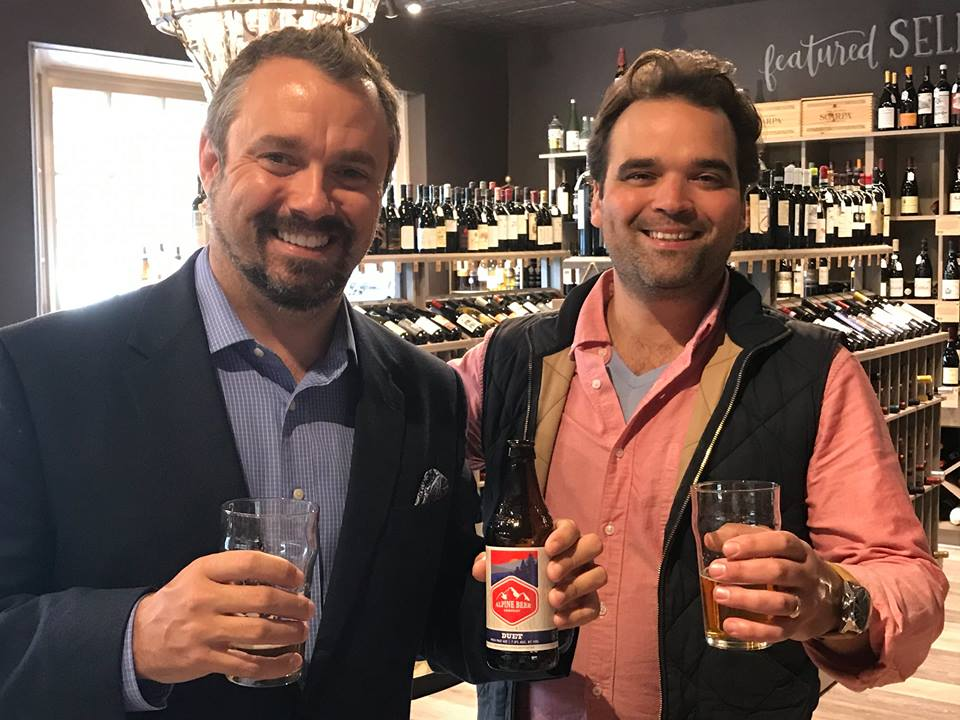 "We caught the boss doing some intensive ""research"" with DAVID GOVATOS & our partners at SWIGG FOR OUR UPCOMING UNCORKED: ARIAS, AMBERS & IPAS."