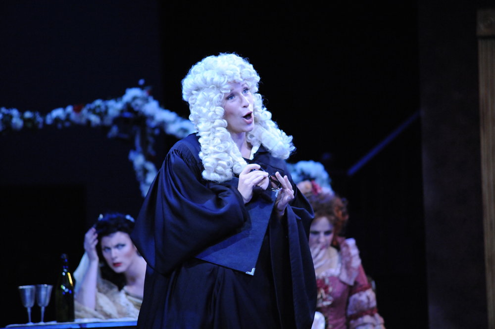 Despina in COSI FAN TUTTE  at Brigham Young University (2012)
