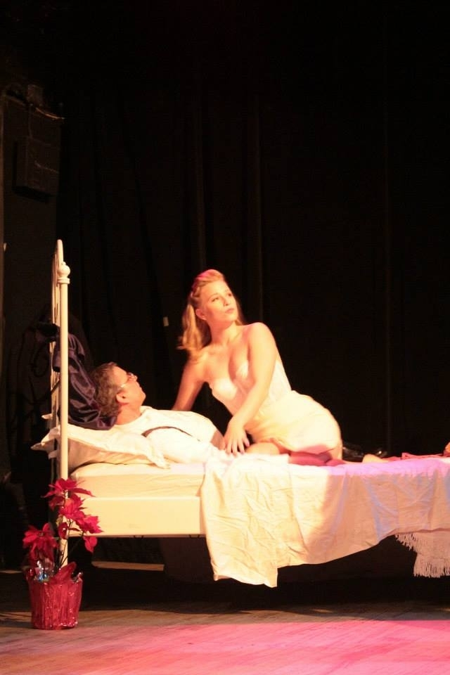 Helen in THE TENNESSEE WILLIAMS PROJECT (2014) directed by Daniella Caggiano for Bedlam Ensemble