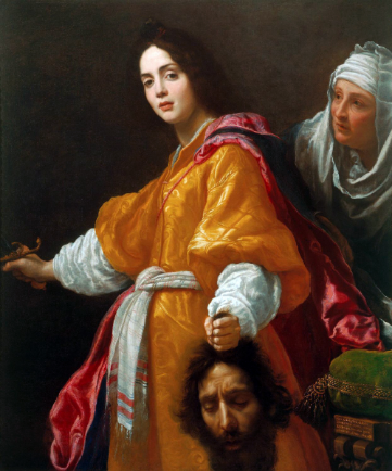 """Judith with the Head of Holofernes"" by Cristofano Allori, 1613. Public Domain image."